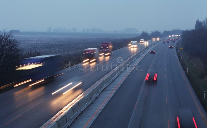 Transporte da estrada fotografia de stock