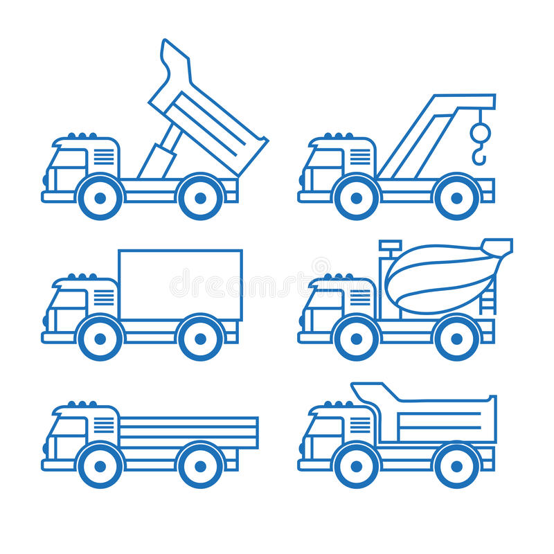 Transporte de carga ilustração do vetor