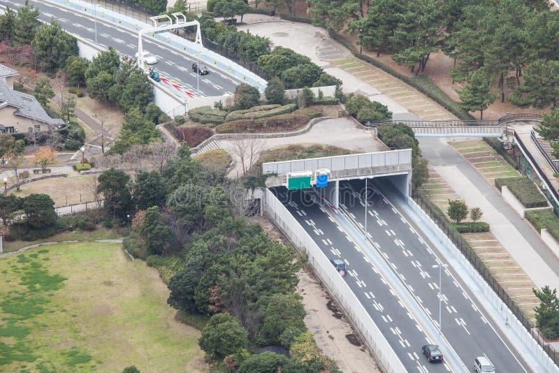 Transporte de Fukuoka en Japón fotografía de archivo libre de regalías