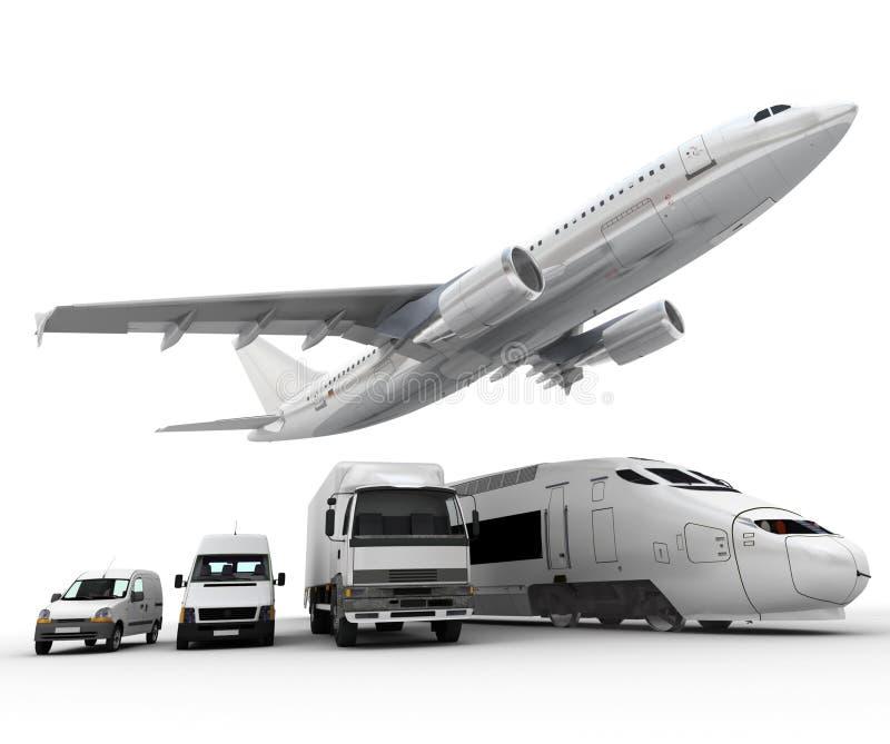 Transporte de la carga libre illustration