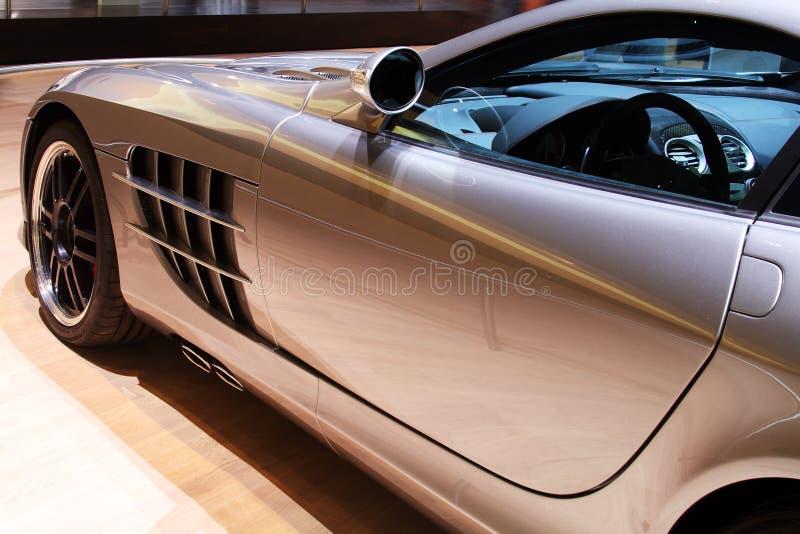 Transporte de lujo del coche de deportes imágenes de archivo libres de regalías