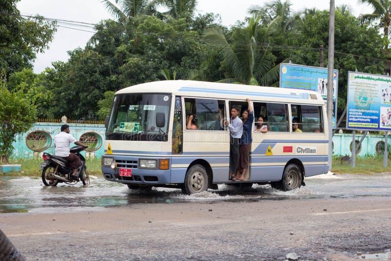 Transporte de Myanmar imagem de stock royalty free