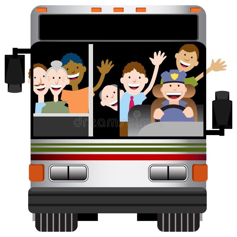 Transporte de omnibus ilustración del vector