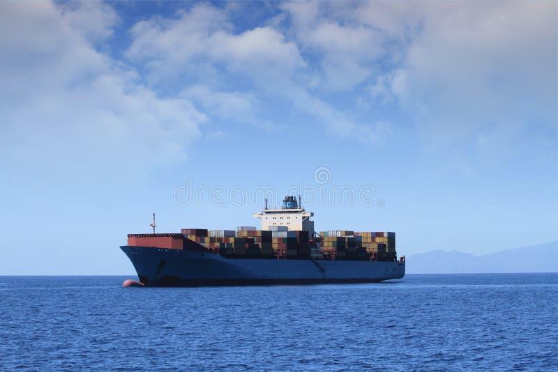 Transporte de recipientes imagens de stock royalty free