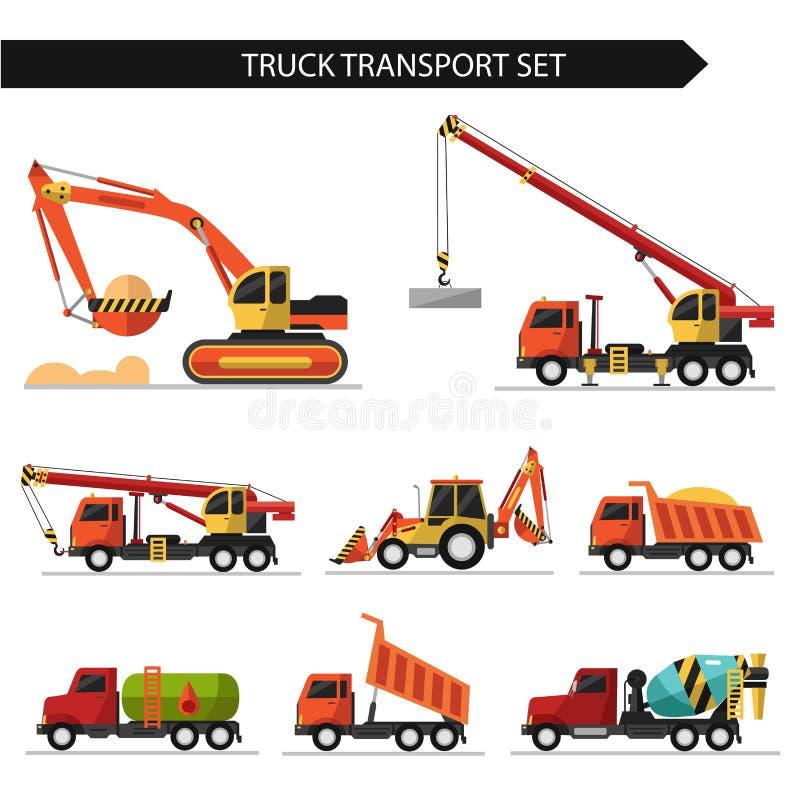 Transporte del camión ilustración del vector