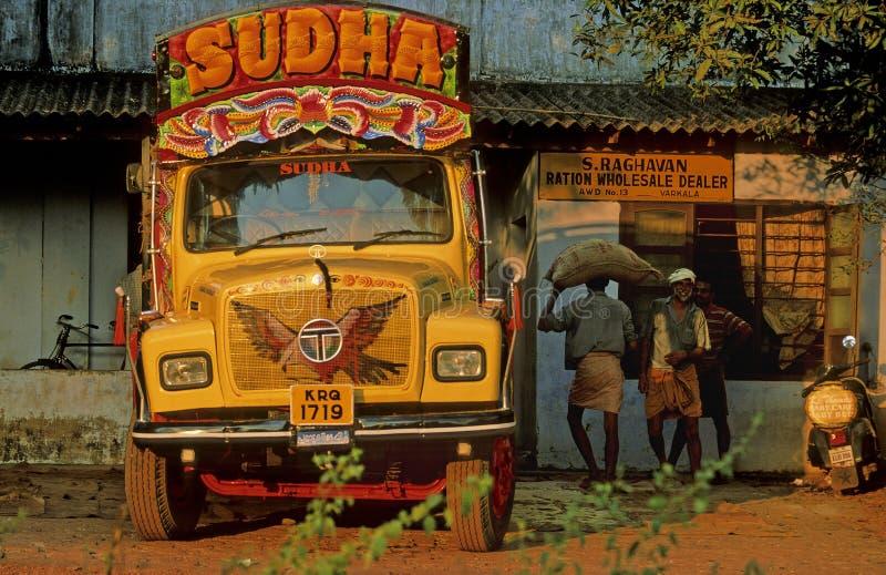 Transporte del té en Kerala foto de archivo libre de regalías