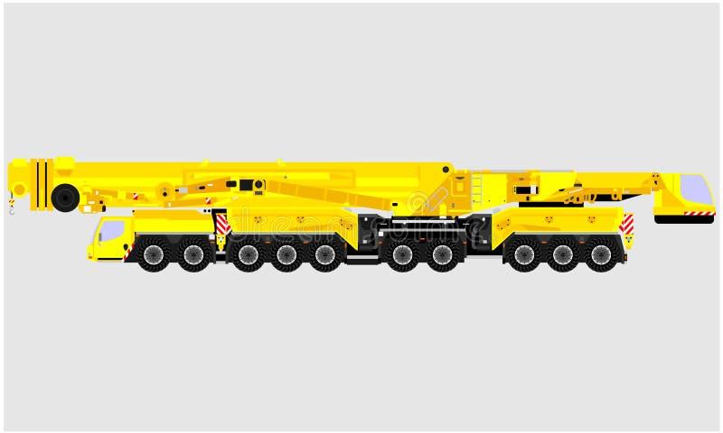 Transporte del vehículo del material de construcción libre illustration