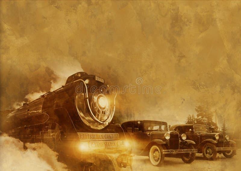 Transporte del vintage fotografía de archivo
