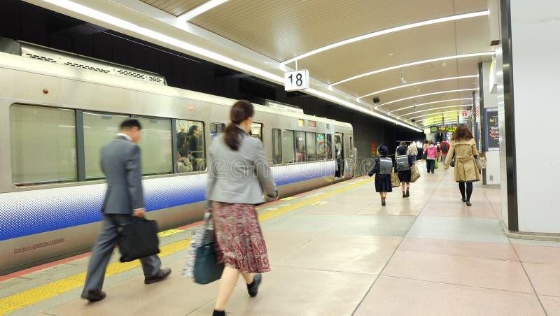 Transporte do JÚNIOR da conveniência em Japão imagens de stock