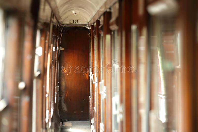 Transporte do trem do vintage imagem de stock royalty free