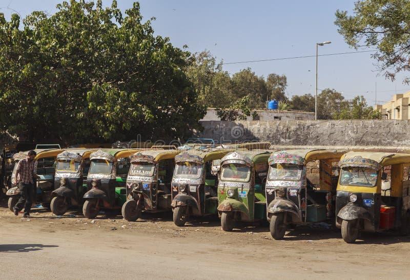 Transporte em Paquistão foto de stock