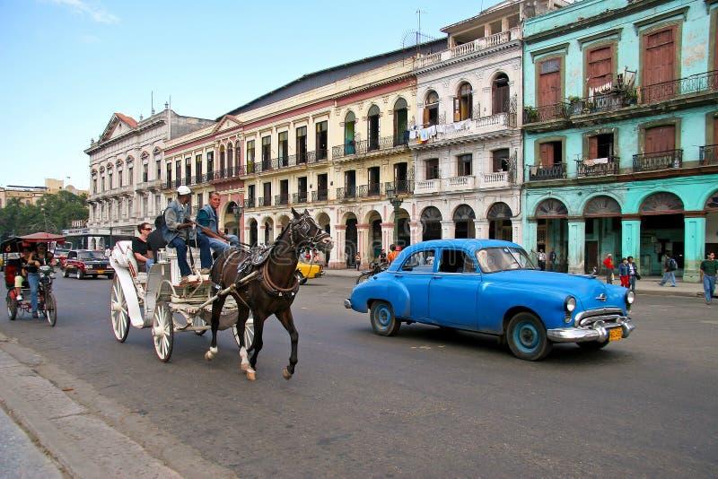 Transporte en Cuba fotos de archivo