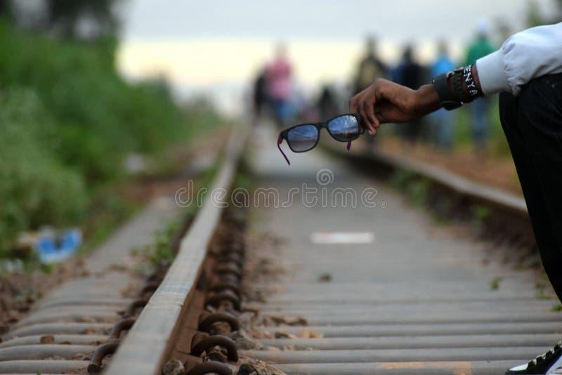 Transporte ferroviario fotografía de archivo