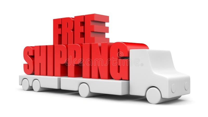 Transporte livre ilustração do vetor