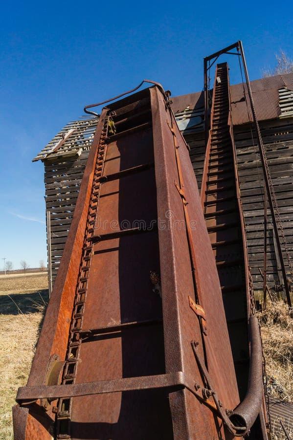 Transporte oxidado da grão foto de stock royalty free