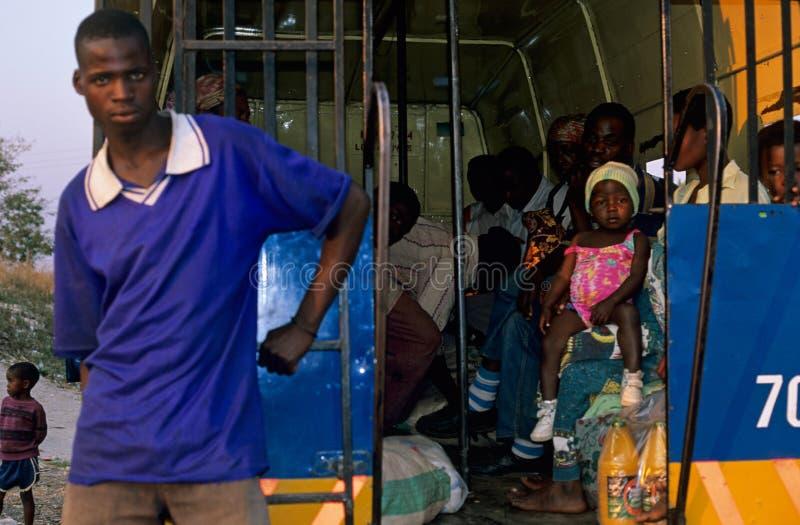 Transporte Público En Mozambique. Fotografía editorial