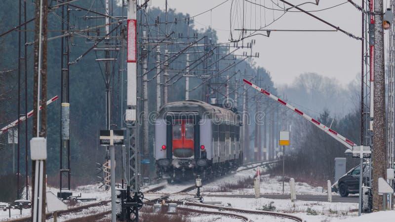 Transporte Railway fotografia de stock