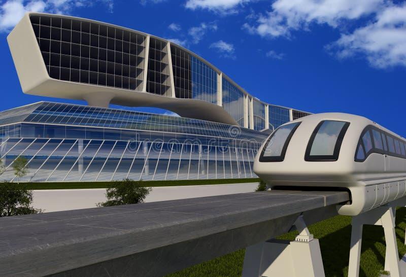 Transporte urbano ilustração royalty free