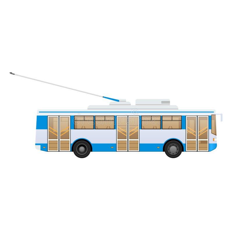 Transporte urbano moderno público del pasajero: autobús de carretilla municipal libre illustration