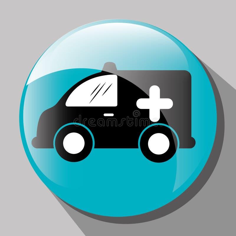 Transporte, veículo e entrega ilustração royalty free