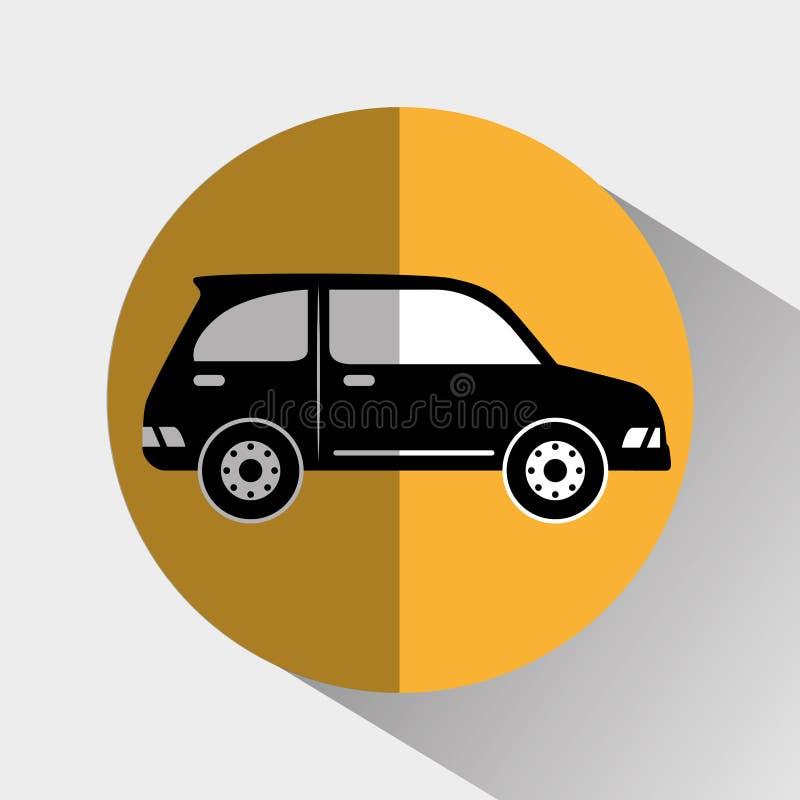 Transporte, veículo e entrega ilustração stock