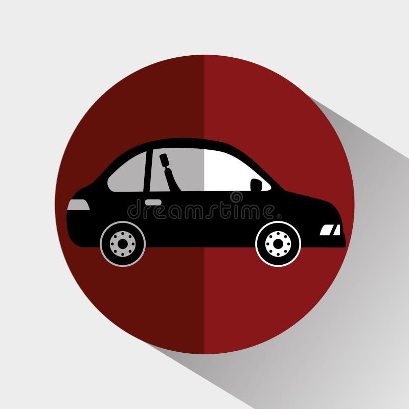Transporte, veículo e entrega ilustração do vetor