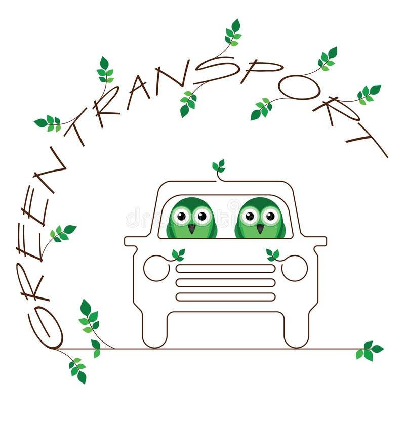 Transporte Verde Fotografia de Stock Royalty Free