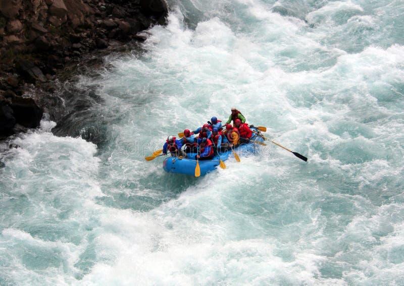 Transporter de fleuve photo libre de droits