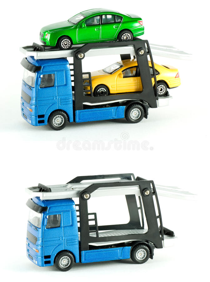 Transporter truck royalty free stock photography