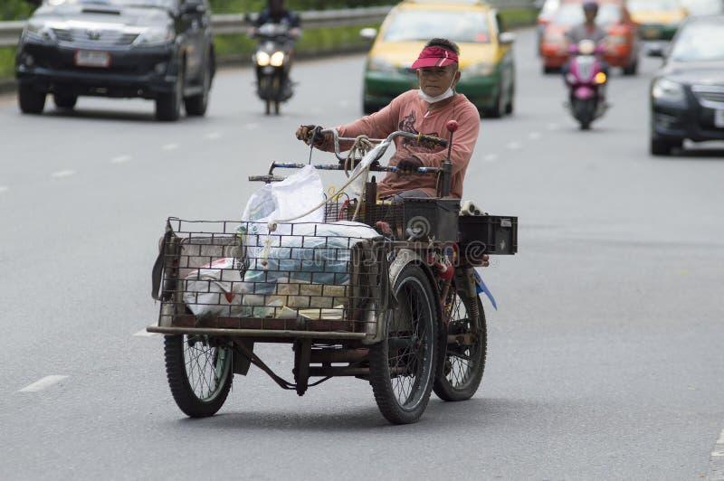 Transportes del reciclador imagenes de archivo