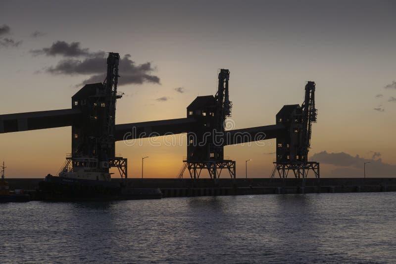 Transportes fracos da carga em Barbados imagem de stock royalty free