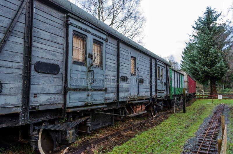 Transportes railway em desuso foto de stock royalty free