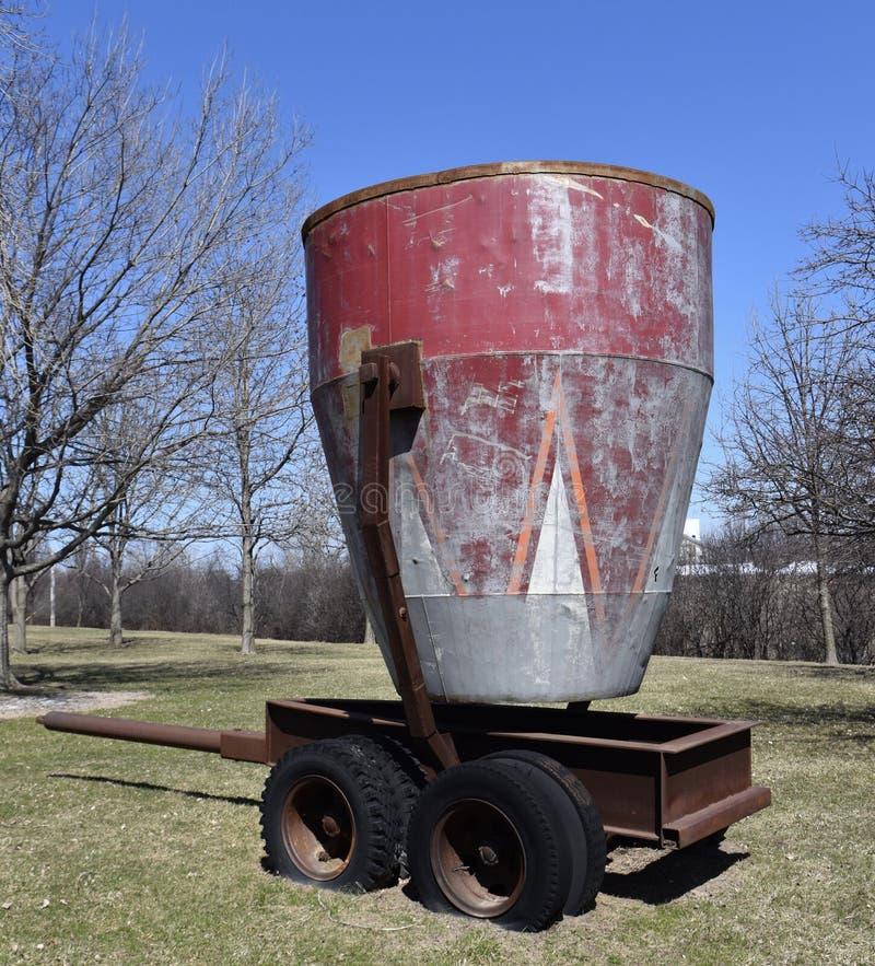 Transporteur d'eau municipal image libre de droits