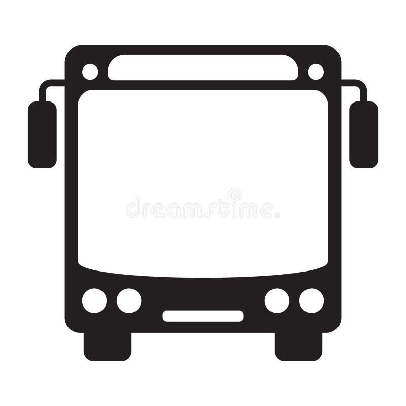 Transportez l'icône dans le style plat, l'illustration de vecteur d'icône d'autobus, icône d'autobus pour votre conception de sit illustration de vecteur