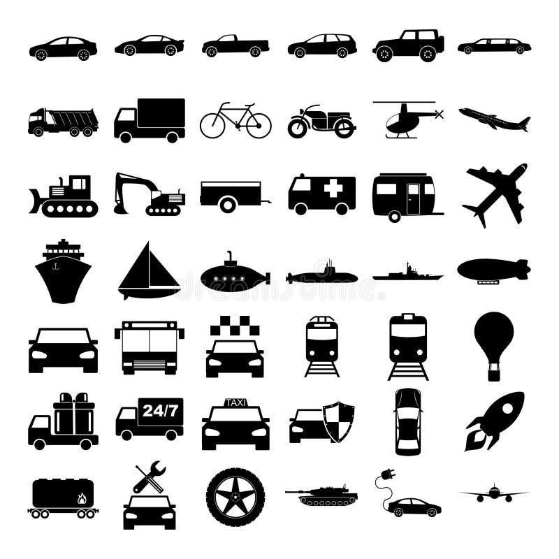 Transportez les graphismes Illustration de concept de vecteur pour la conception illustration libre de droits