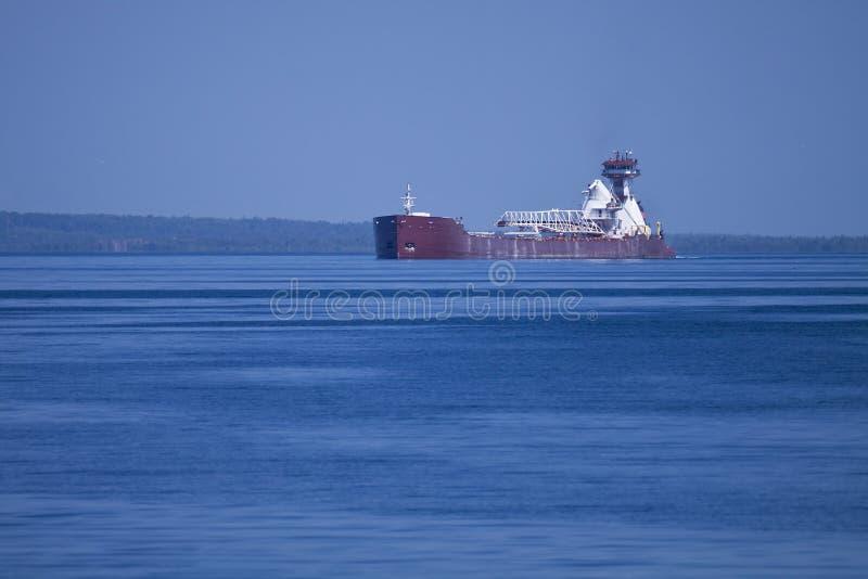 Transportez-vous sur le lac Michigan photo libre de droits