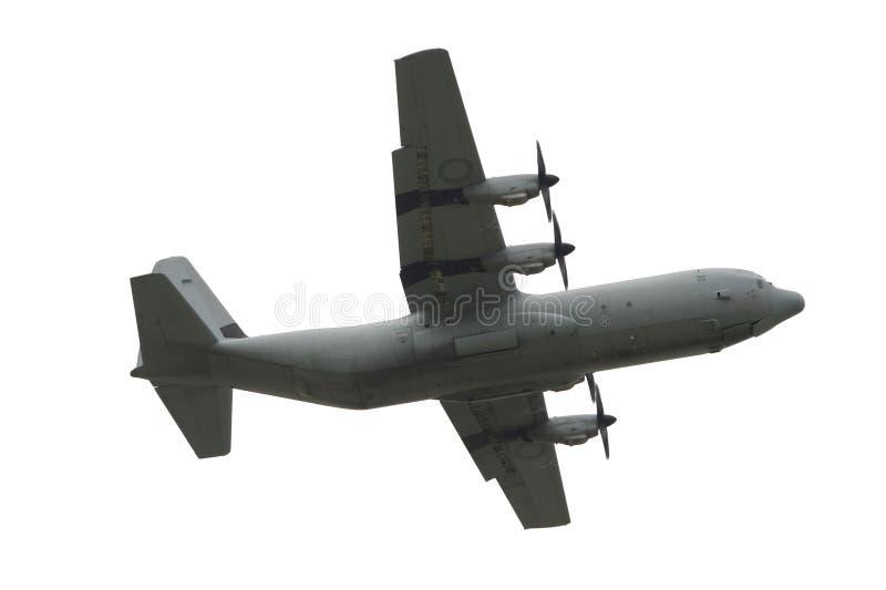 Transportflugzeug getrennt worden lizenzfreie stockfotografie