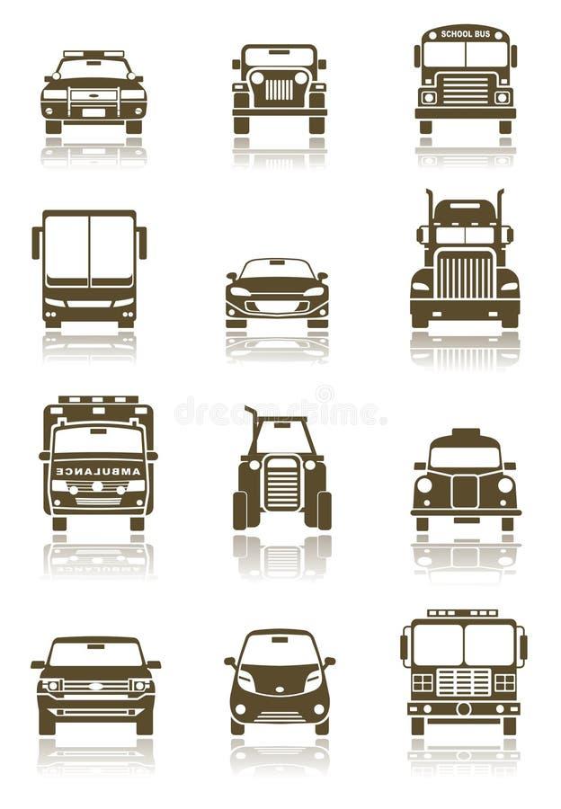 Transportikonen stock abbildung