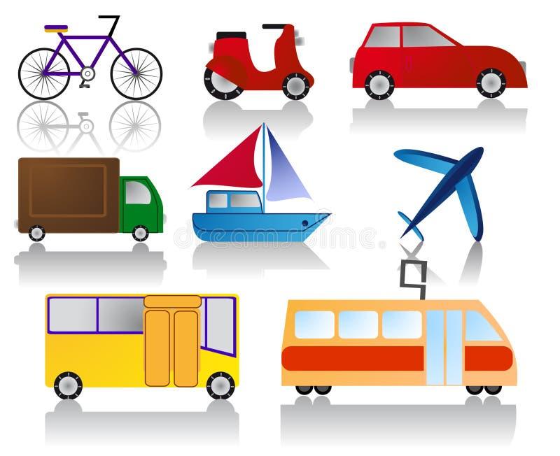Transportikonen vektor abbildung