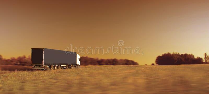 transportlastbil royaltyfri foto