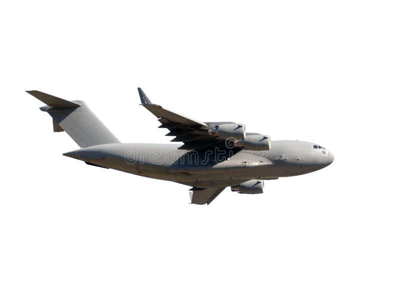 Transportstrahlenflugzeug lizenzfreies stockfoto
