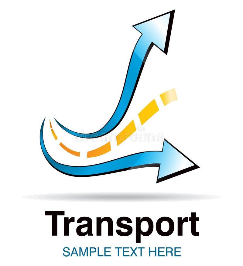 Transportsymbol vektor illustrationer