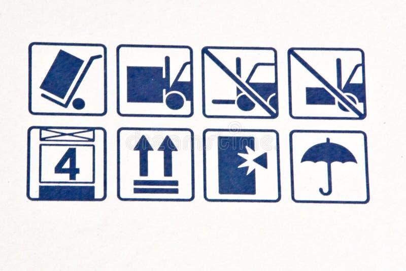Transporttecknet royaltyfria bilder