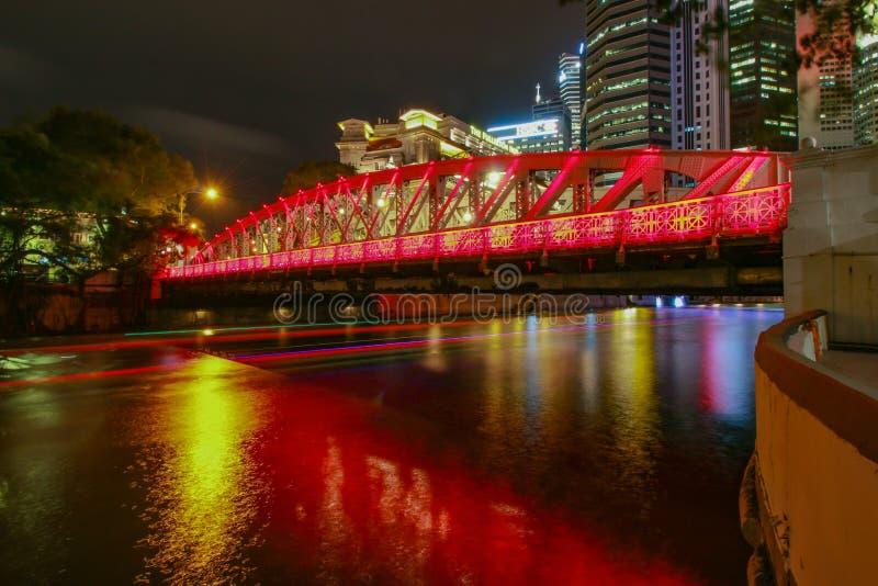 Transportu mosta spaceru sposób obrazy stock