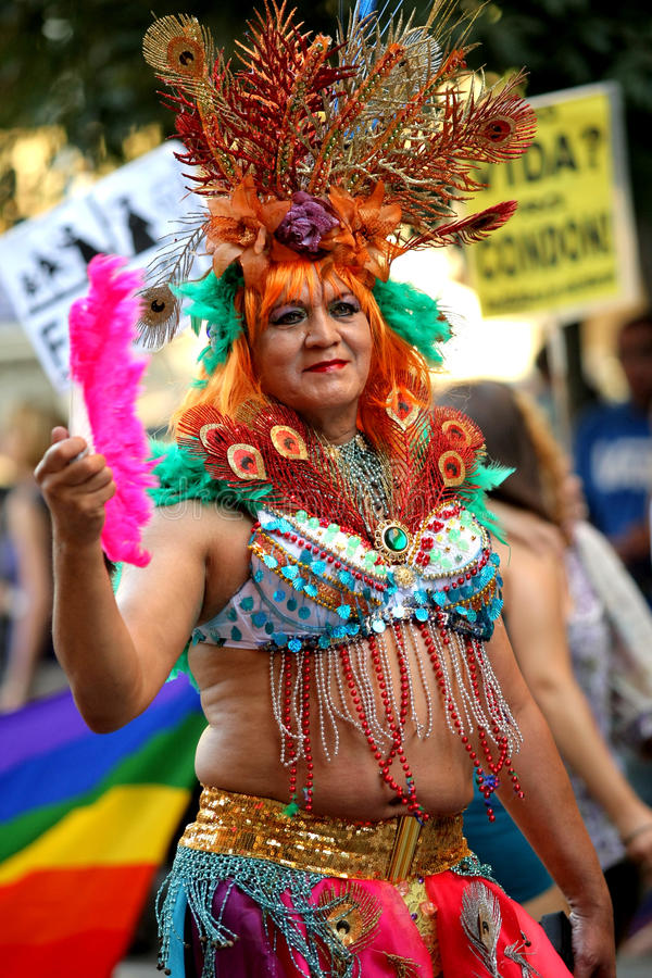 Transsexual parades