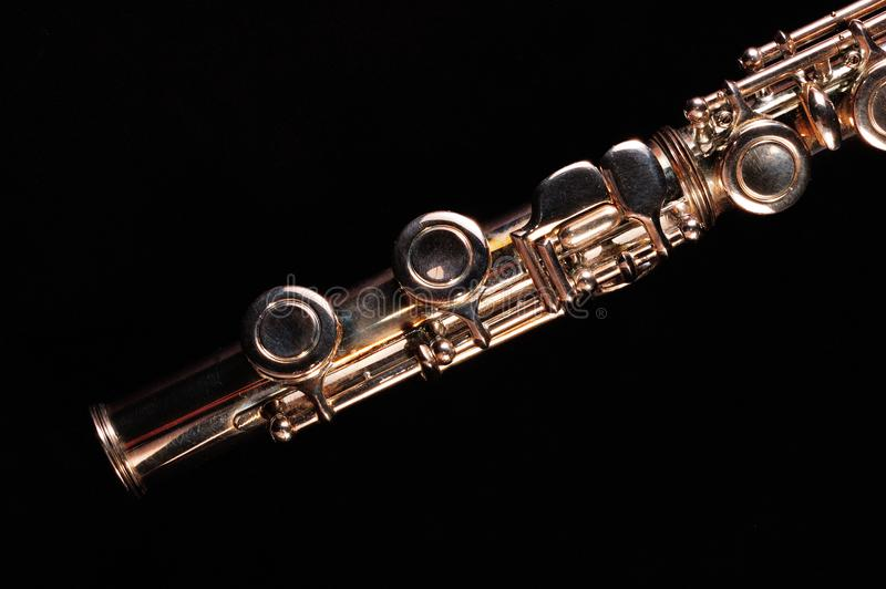 Transverse flute royalty free stock photography