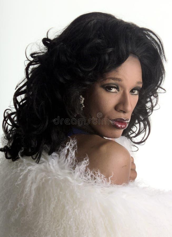 Download Transvestit 4 fotografering för bildbyråer. Bild av afrikansk - 225833