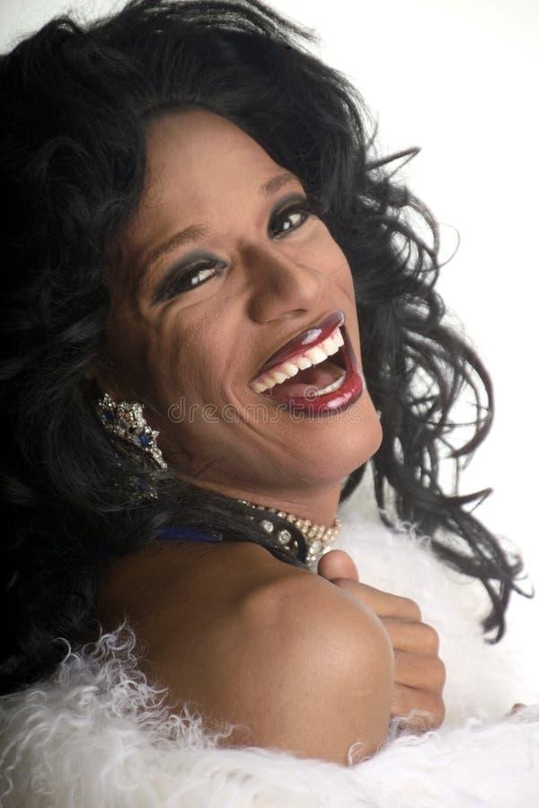 transvestit 5 royaltyfri bild