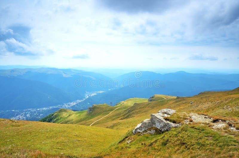 Transylvania, Sinaia,罗马尼亚 免版税库存图片