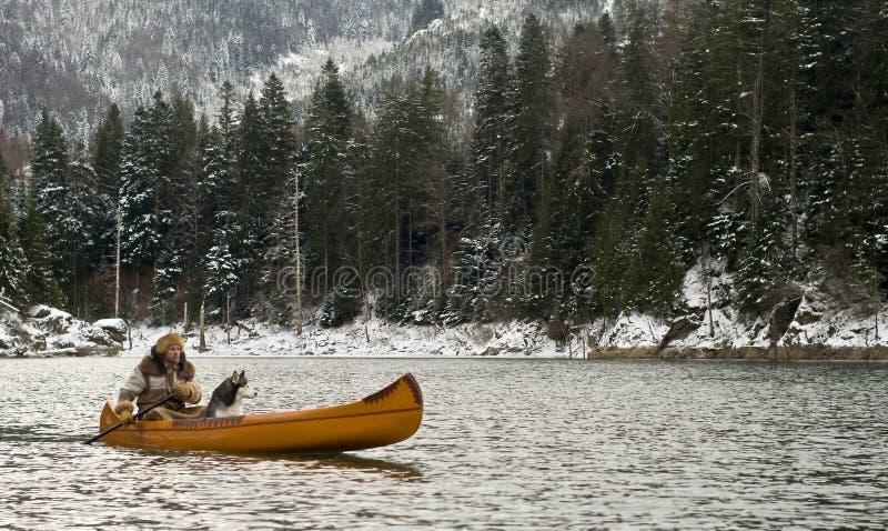 transylvanian trapper arkivbilder